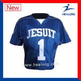 Lacrosse fait sur commande Jersey d'impression de Teindre-Sublimation de Healong