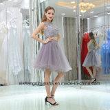 Двухкусочное возвращение домой одевает a - линию Bridal платье выпускного вечера шнурка Sequin