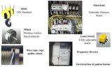 10 LuchtKraan van de Balk van de ton de Elektrische Enige met Motor Swf