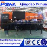 4 Aixsの自動指標近いフレームまたはパンチ穴機械が付いている油圧CNC打つ機械