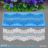 3D Pearls e Jewelry Silicone Fondant Cake Broder Lace Mould