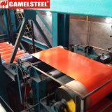Camelsteel fornece a bobina de aço galvanizada revestida PPGI da qualidade cor principal