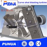 Ce Shot Blasting Turbines Machine de sablage abrasif à la roue / Belt / Direct / Driven Shot Blasting Machine