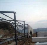 Granja avícola grande de la casa prefabricada del marco de acero del diseño/de la luz de la vertiente de la casa de pollo de las granjas de la parrilla