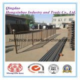 Outdoor Metal Security Fence de ferro / Steel Iron Composite Removable Temporary Fence