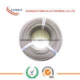 Alambre aislado del nicrom de la resistencia con la fibra de vidrio 600C/800C