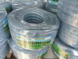 Belüftung-freie transparente flexible verstärkte Faser-umsponnene Bewässerung-Wasser-Rohr-Garten-Plastikschlauchleitung
