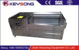 De automatische Wasmachine van de Aardappel van het Wortelgewas van de Stijl van de Borstel voor de Aardappel van de Was en van de Schil