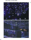2017 La más nueva cortina de la estrella del LED RGB para la boda o el disco