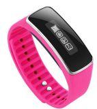 Silikon-Uhrenarmband der intelligenten Bluetooth Sport Gril Dame-elektrisches LED