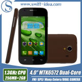 H20 CE Certification 4 Inch 2g 3G Dual SIM Colors China Android Cell Phone