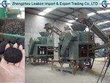 Carvão amassado do carvão vegetal da forma de Malaysia o vário expulsa máquina da esfera de carvão