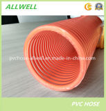 Belüftung-flexible Plastikspirale verstärkter Puder-Wasser-Saugrohr-Schlauch