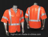 Het hoge Vest van de Veiligheid van het Zicht met ANSI07 (C3001)