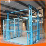 Elevador elétrico hidráulico do elevador dos bens do armazém do dispositivo de levantamento da carga