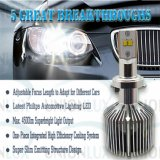 調節可能なLength LED Car Headlight H7 25W Automobile LED Headlight
