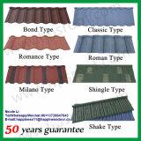 Feuille colorée Philippines de matériau de construction de prix usine de tuiles de toit de Longspan Home Depot