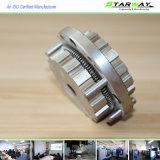 Pièce de usinage en acier en métal fait sur commande avec les pièces de rotation de commande numérique par ordinateur dans la qualité