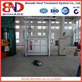 Fornace di casella industriale per il trattamento termico