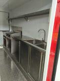 Rimorchio del carrello del carrello del hot dog della via dell'alimento del forno di Wholeale da vendere