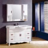 Vanità su ordinazione commerciale di legno moderna della stanza da bagno con lo specchio