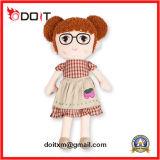 Boneca enchida do luxuoso da boneca do luxuoso de 3 cores boneca feito-à-medida