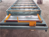 A telha de telhadura galvanizada lamina a formação da máquina