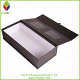 黒い折るボックスを包む贅沢なペーパー