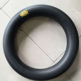 Tubo interno de motocicleta de borracha natural de qualidade superior (2.75-17)