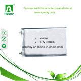 3.7V 606066 de Batterij van het Polymeer van het Lithium 2600mAh voor GPS