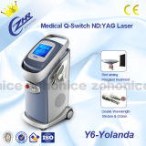 ND vertical do Q-Interruptor Y6: Equipamento da remoção do tatuagem do laser de YAG