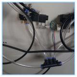 2 PVCのためのヘッド水スロットフライス盤はWindows機械の側面図を描く