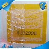 AntiCounterfeiting Tamper Evident Security Void Sticker für Brand Protection