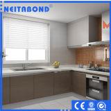 El panel compuesto de aluminio incombustible material de la pared de cortina de la decoración