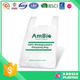 Plastikweste-Griff HDPE Einkaufstasche für Supermarkt