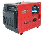 Aria diesel silenziosa economica del generatore raffreddata