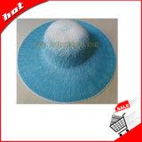 Sombrero grande del borde del sombrero de la mujer del sombrero del sombrero de papel flojo de papel del papel