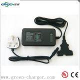 Cargador eléctrico 12V 3A 4A del Li-ion de la E-Bici del cargador de batería de litio de la bici