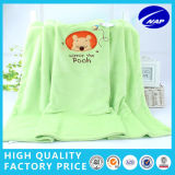 Flannel Embroidered Kids Blanket, Top Quality를 가진 Extraordinary Soft Touch