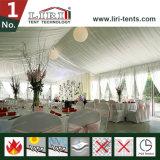 방수 내화성이 있는 백색 PVC 지붕 결혼식 옥외 천막