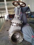 GB valvola a saracinesca standard acciaio al carbonio/di acciaio inossidabile con la flangia