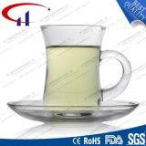 140ml vendem por atacado o jogo de chá de vidro do projeto novo (CHM8454)