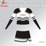 Robes chaudes de Cheerleading de fille de sublimation de vêtements de sport de vente
