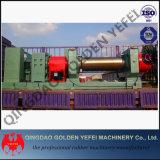 Le caoutchouc de la Chine ouvrent le moulin de mélange de deux roulis avec le mélangeur courant