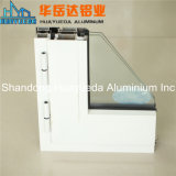 알루미늄 Silding Windows 단면도 분말 코팅