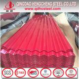 Farbe beschichtetes vorgestrichenes gewölbtes Stahlblatt für Dach-und Wand