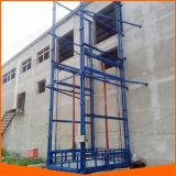 Elevador de levantamento Chain hidráulico vertical da carga do trilho de guia para o armazém com inspeção do Ce
