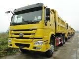 중국 상표 Sinotruk HOWO76 팁 주는 사람 트럭 최신 판매