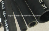 En 856 4sp Hydraulic Rubber Hose de quatre Plies Steel Wire DIN