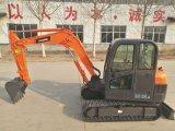 Máquina escavadora hidráulica da mini esteira rolante